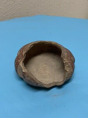 Pre Columbian Pottery Ceremonial Bowl From Oaxaca Mex.