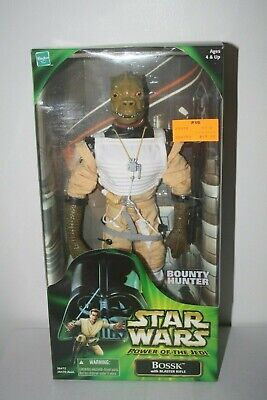 "Star Wars 2000 12"" POTJ Collector Series Bossk MISB Sealed New"