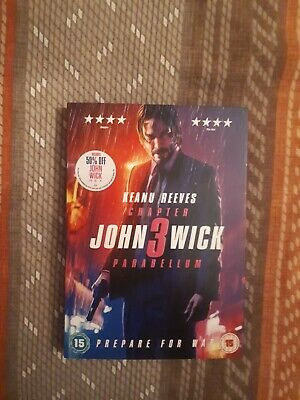 John Wick Chapter 3 - Parabellum (Region 2 DVD ) Keanu Reeves Halle Berry