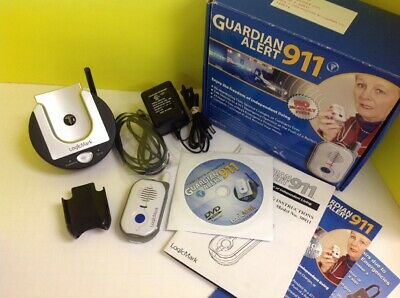 Guardian Alert 911 Emergency Alerting Device Life Alert Logic Mark Preowned