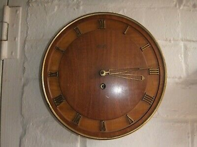 KIENZLE Vintage German Wooden Wall Wind Up Clock