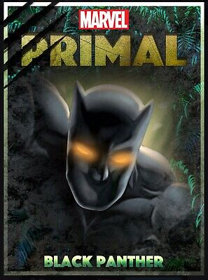 Topps Marvel Collect Primal Award Black Panther Original