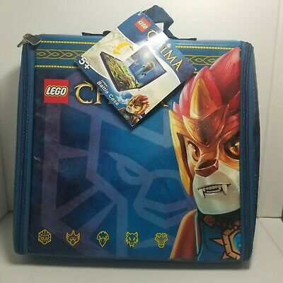 2013 Lego Legends Of Chima--Zipbin Battle Case (New)