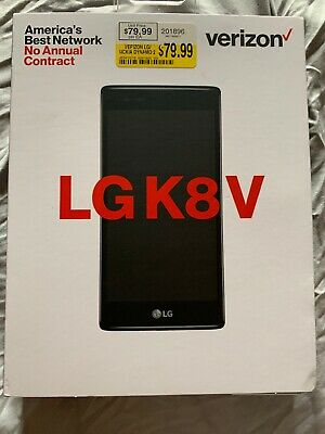 Verizon Wireless LG K8 V 16GB Prepaid Smartphone New In Box