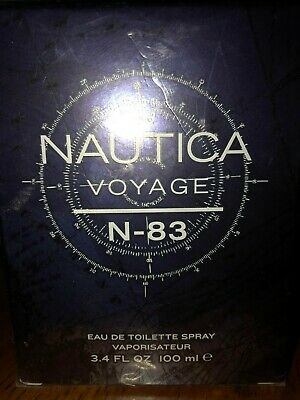 Nautica Voyage N-83 Cologne by Nautica, 3.4 oz EDT Spray for Men NEW SEALED