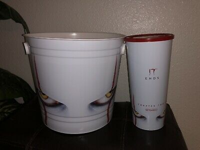 It Chapter 2 Movie Theater Collectors Drink Cup And Popcorn Bucket.
