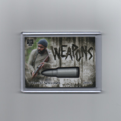 2018 Topps Walking Dead Hunters and the Hunted WM-BTW Weapons Medallion Tyreese