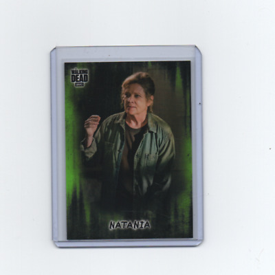 2018 Topps Walking Dead Hunters and the Hunted #79 Green Base Parallel 23/25