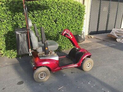 Shoprider Deluxe 4 Wheel Mobility Scooter w Canopy & Charger - Used