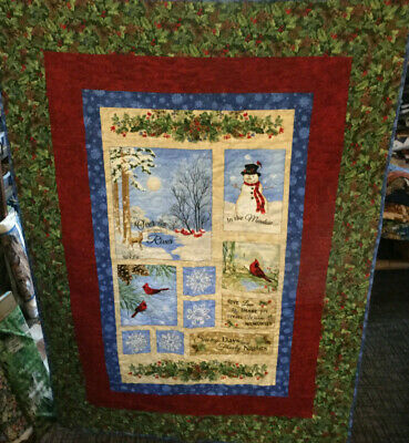 """In the Meadow Quilt    48"""" x 64"""""""