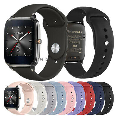 """Replacement Silicone Sport Watch Band Strap For ASUS ZenWatch 2 1.63"""" Wristband"""