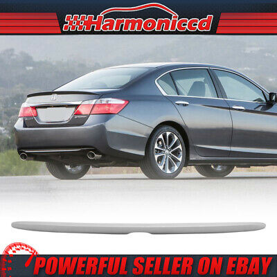 Fits 13-16 Accord OE Style Trunk Spoiler Painted #NH603P White Diamond Pearl