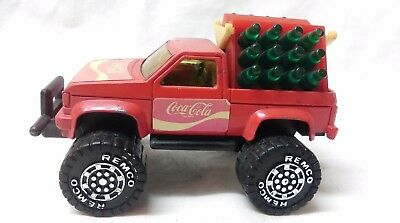 1987 REMCO Coca Cola Red Delivery Truck with mini coke bottles