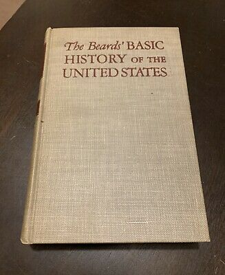 A BEARDS' BASIC HISTORY OF THE UNITED STATES 1944 | Amazing Condition