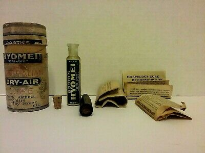 Vintage Booths Hyomei - The Australian Dry Air Cure -No Actual Medicine