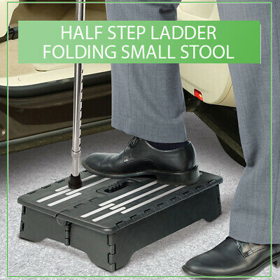 Awe Inspiring Folding Half Step Stool Low 4 Inch Mobility Strong Portable Evergreenethics Interior Chair Design Evergreenethicsorg