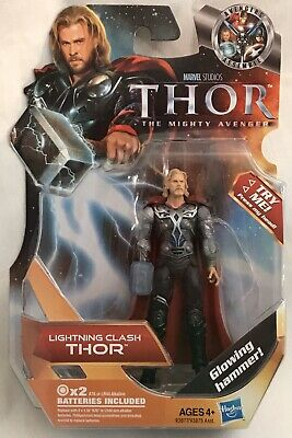 2011 Marvel Studios Thor The Mighty Avenger LIGHTNING CLASH THOR Action Figure