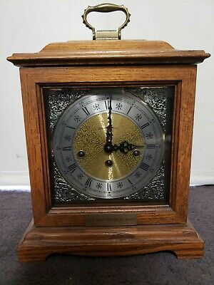 Howard Miller 612-438 Westminster Chime Manual Wind Movement Mantel Clock
