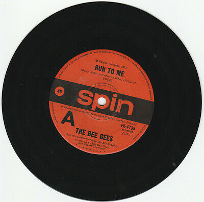 Bee Gees - 45 - Run To Me