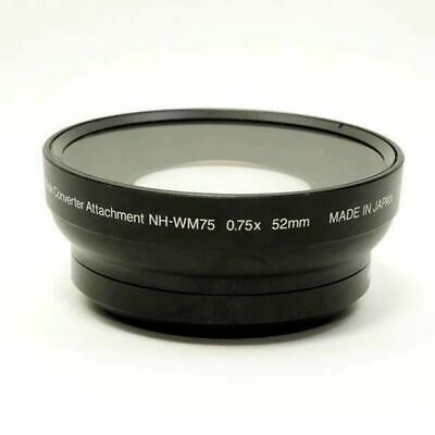 Nikon NH-WM75 0.75x Wide Converter Attachment 52mm Excellent from Japan F/S