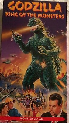 "Vhs Video Science Fiction Movie ""Godzilla: King Of The Monsters"" Japan Japanese"
