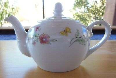 BIA Cordon Bleu International Teapot with Flowers and Butterflies Made in China