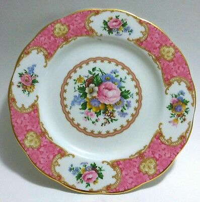 Royal Albert Lady Carlyle Salad / Dessert / Side Plate Excellent Condition 21cm