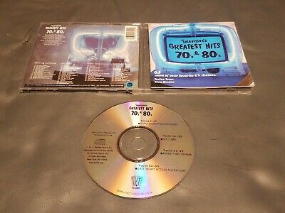 Television's Greatest Hits, Vol. 3: 70s & 80s 65 Theme Songs (CD, 1990's) Good
