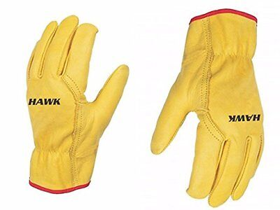 Unisex Leather Work Working Driving Fleece Gloves - Premium Quality Driver/Lorry