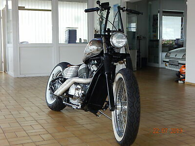 "Honda VT 600 ""Rust n`Dust"" Old School Chopper"