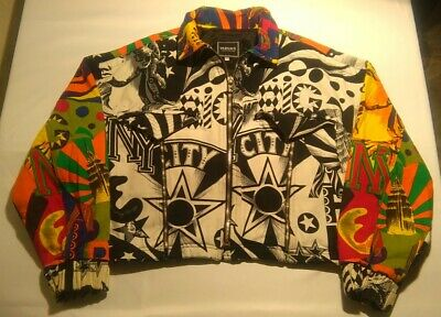 VERSACE JEANS COUTURE JACKET 80's VINTAGE NEW YORK RARE