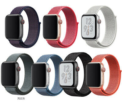 2019 New Nylon Soft Watch Band Strap For Apple Watch Series 5 40MM 44MM