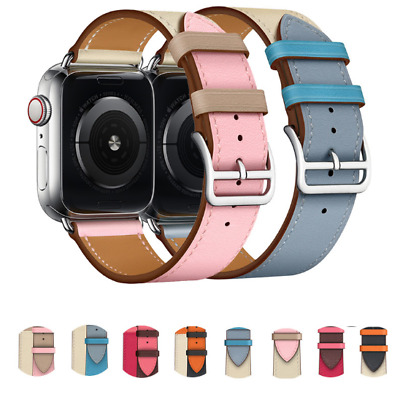 2019 New Leather Watch Band Strap For Apple Watch Series 5 40MM 44MM