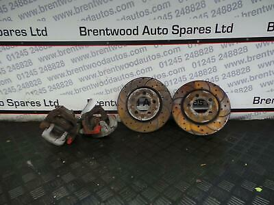 Audi S3 2003 8L MK1 Rear Brake Calipers Carriers and Discs - Conversion 260mm