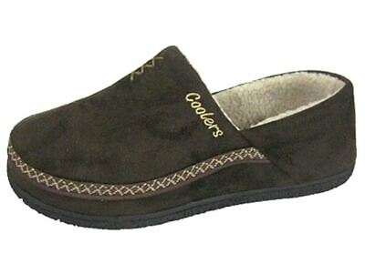 Men's Microsuede Coolers Mule Warm lined Slippers Sizes 7 -12