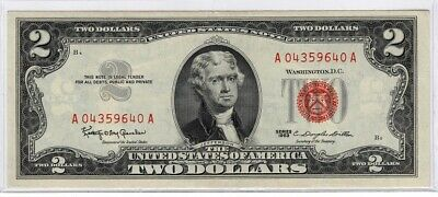 ✯ 1963 Series ✯ $2 ✯ Red Seal notes ✯ AU - BU ✯2 day SALE 1/18/20 Blow Out