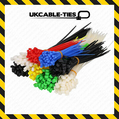 Strong Nylon Cable Ties || Black || White / Natural || Coloured || Premium Ties