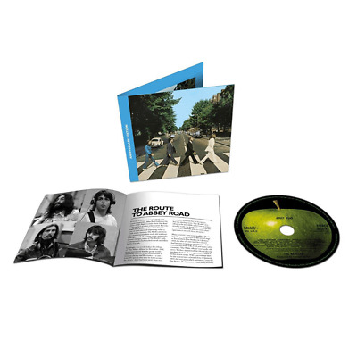 The Beatles - Abbey Road (Cd) 2019 Anniversary Edition...new Mix By Giles Martin