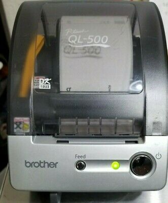 Brother P Touch Ql-500 Thermal Label Printer Tested Works With Labels
