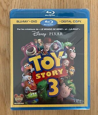 Bluray Toy Story 3 (Pixar/Disney) - neuf sous blister