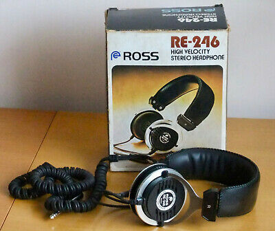 Ross RE246 High Velocity Professional Series Headphones