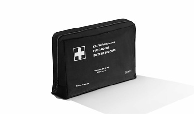 BMW Genuine Emergency First Aid Travel Kit+Black Storage Pouch/Bag 71107263439
