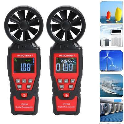 Portable LCD Digital Anemometer Thermometer Wind Speed Gauge Wind Meter Test