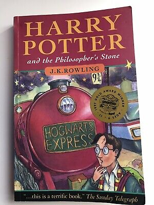 Harry Potter and the Philosopher's Stone by J. K. Rowling PB First Edition 1997