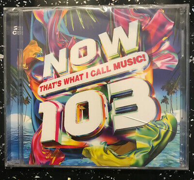 Now That's What I Call Music 103.  **BRAND NEW CD ALBUM/SEALED **