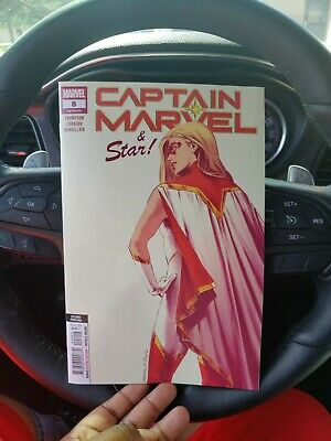 Captain Marvel #8 2nd Printing Carnero New Art Variant (Marvel 2019)