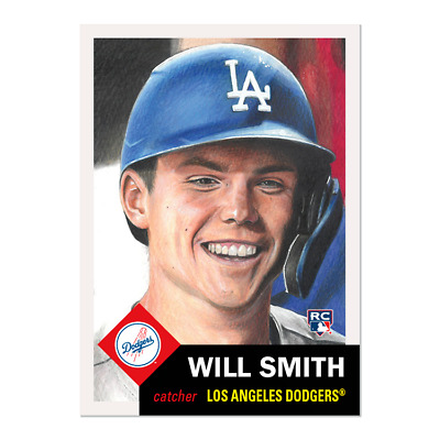 2019 Topps Living Set Card #248 Will Smith Dodgers Rookie Catcher Rc Sp Sold Out