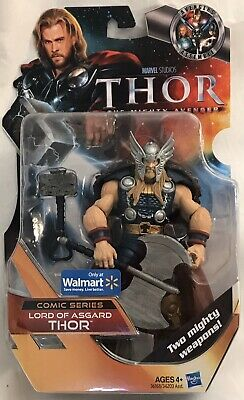 "Marvel Studios Thor The Mighty Avenger LORD OF ASGARD THOR 6"" Figure, Walmart"