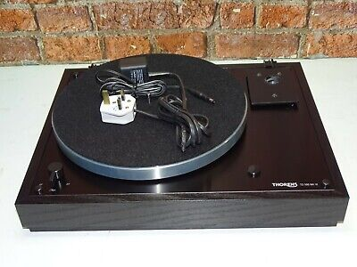 Thorens TD 166 MK VI Vintage Vinyl Turntable Record Player Deck (NO TONEARM)