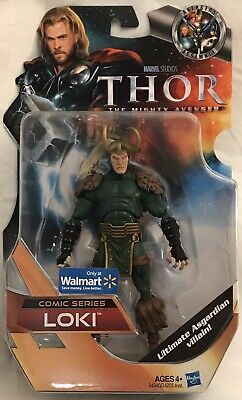 "Marvel Studios Thor The Mighty Avenger Comic Series LOKI 6"" Figure, Walmart"